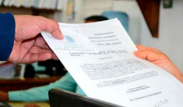 carta antecedentes no penales