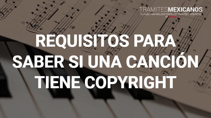 Como saber si una canción tiene Copyright