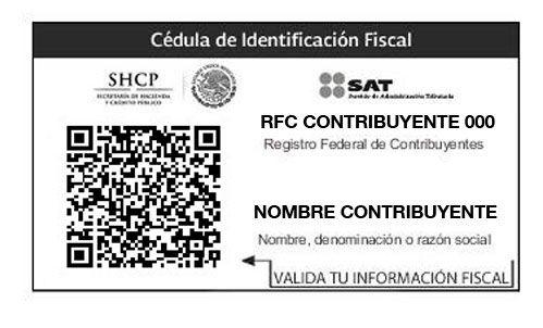 Cédula de identificación fiscal