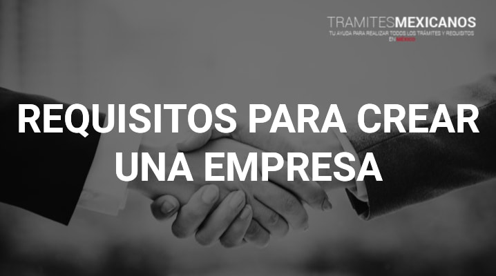 Requisitos para crear una empresa