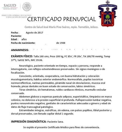 ¿Cuáles son los exámenes médicos que necesito para casarme? ¿Cómo obtener el certificado médico prenupcial?