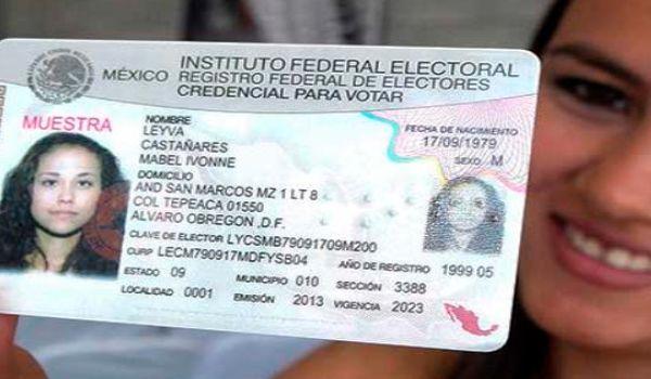 credencial electoral