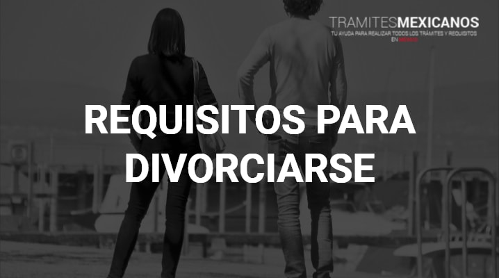 Requisitos para el divorcio