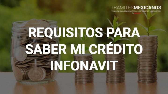 Como saber mi crédito Infonavit