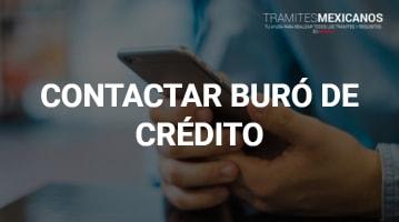 Contactar Buró de Crédito