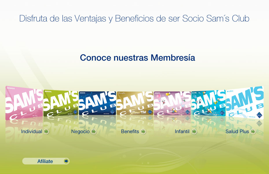 Requisitos para membresía sams club