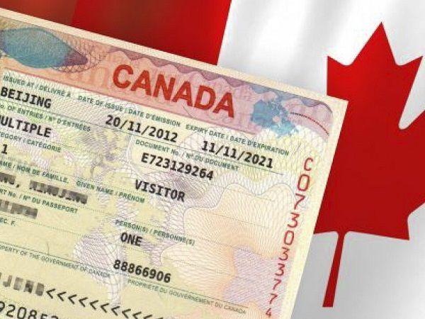 Solicitud de visa canadiense