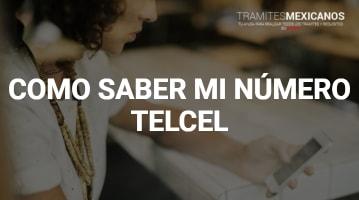 Como saber mi número Telcel