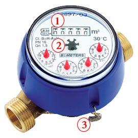 Instalar un medidor de agua