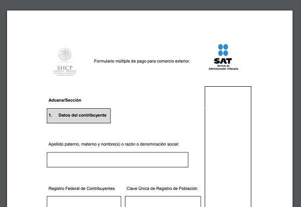 ¿Cómo obtener el formulario múltiple de pago?
